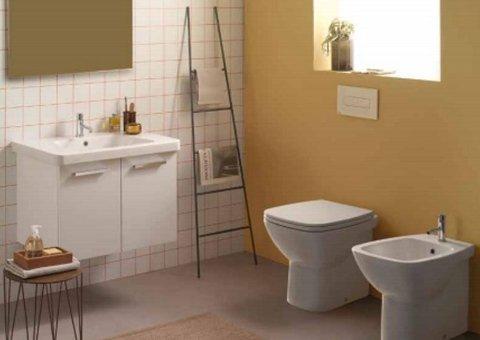 bagno con scala