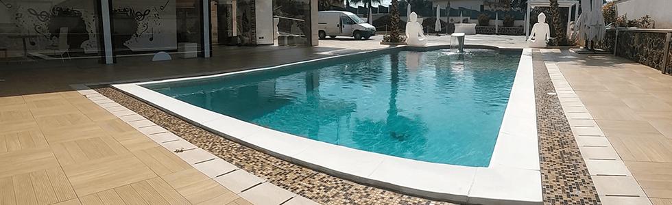 marmo per bordo piscina