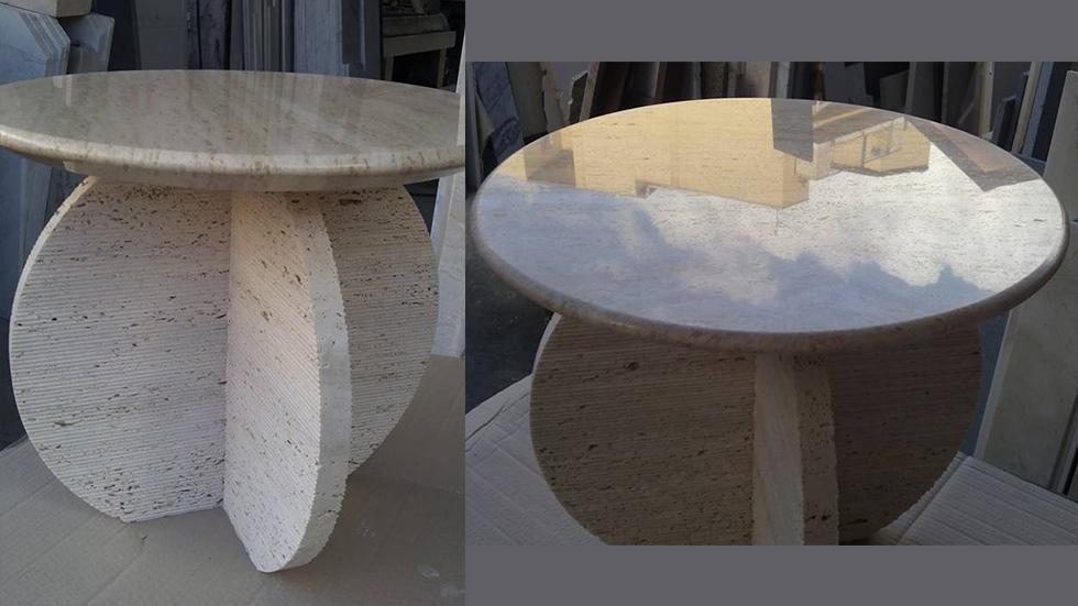 realizzazione di tavoli in marmo catania