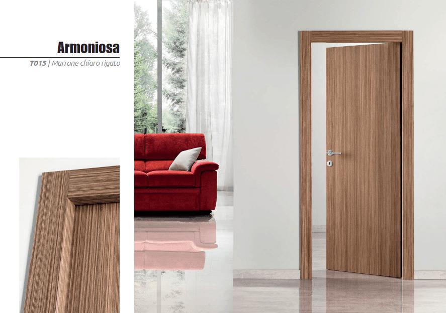 Isomax-Collezione Armoniosa, Marrone Chiaro Rigato.