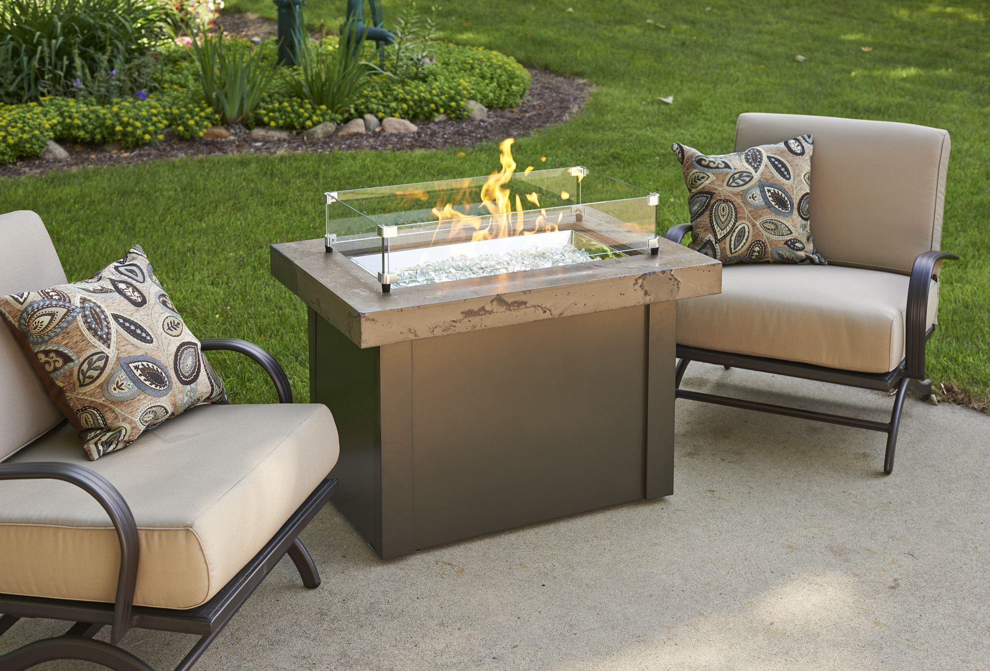 Providence, Cove 30, promotion, sale, fire pit, firepit, fire table,  firetable, Outdoor Greatroom Company
