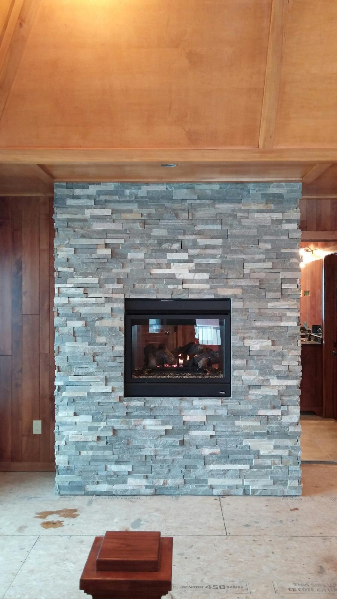 Lennox, Astria, See-thru gas fireplace