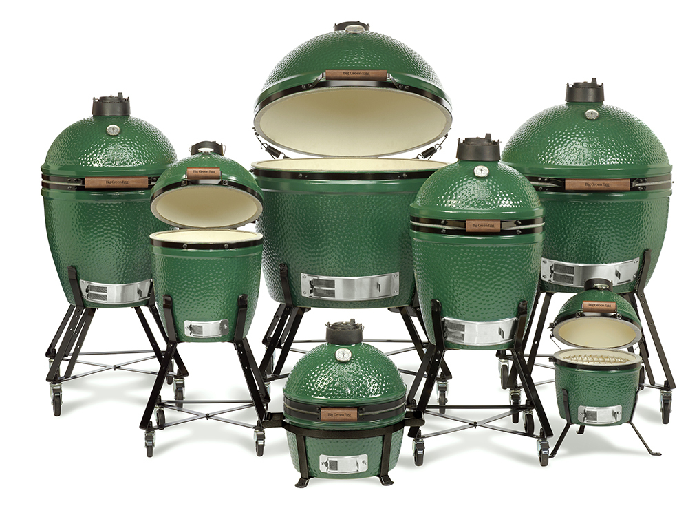 Charcoal Smoker Grill - Big Green Egg
