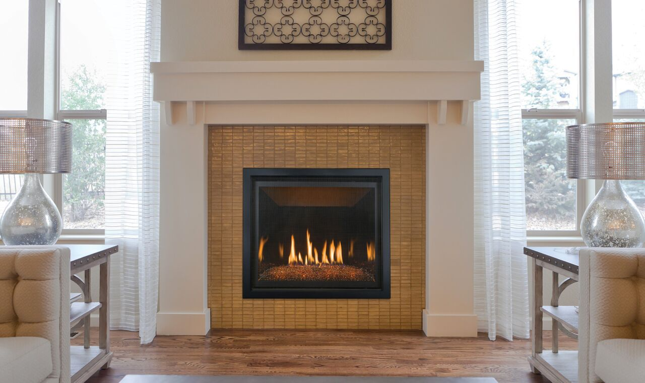 Contemporary Gas Fireplace - Kozy Bayport 36