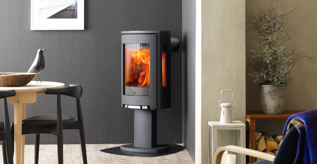 Contemporary Wood Stove - Jotul