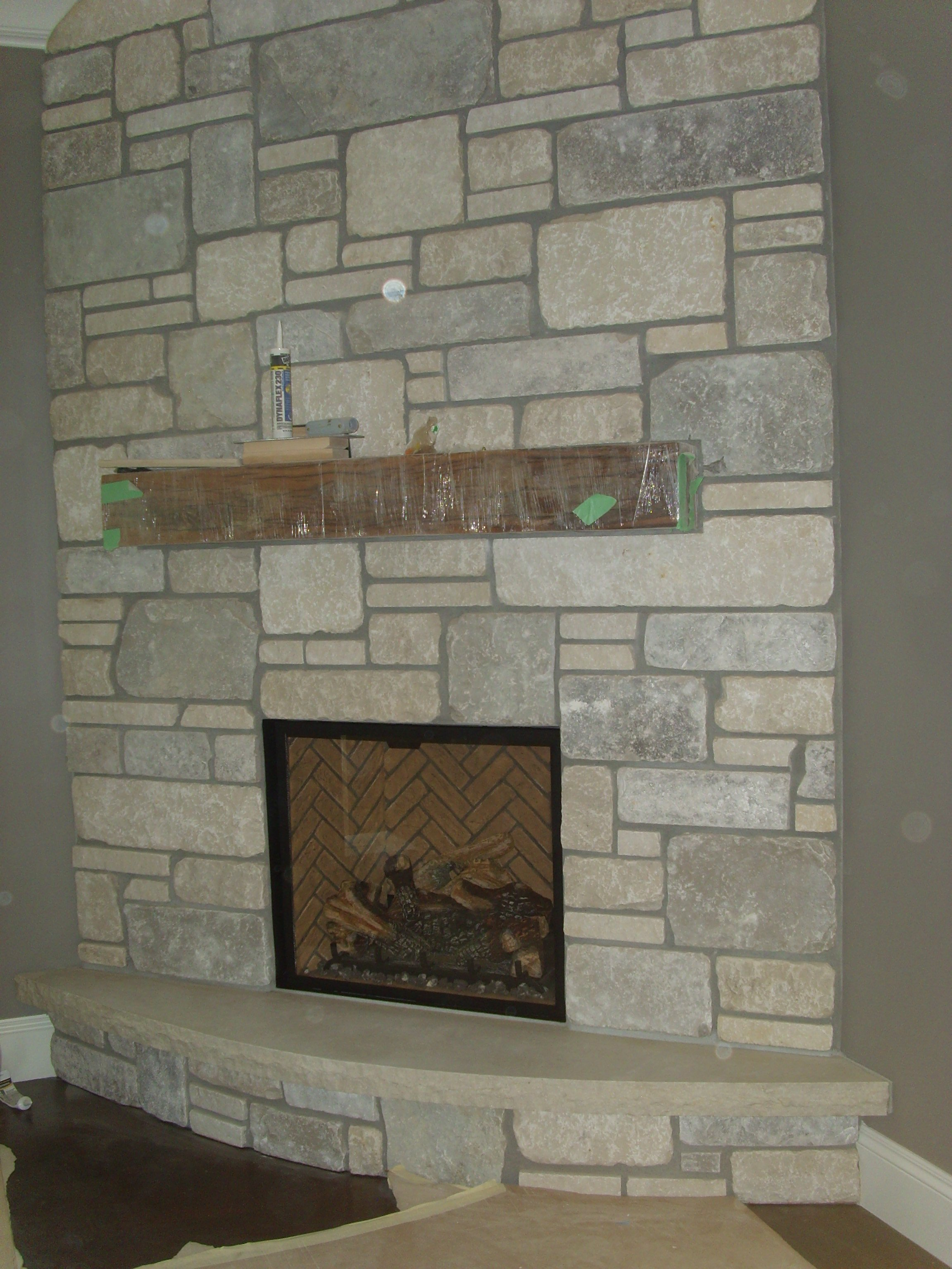 Town & Country - Traditional fireplace
