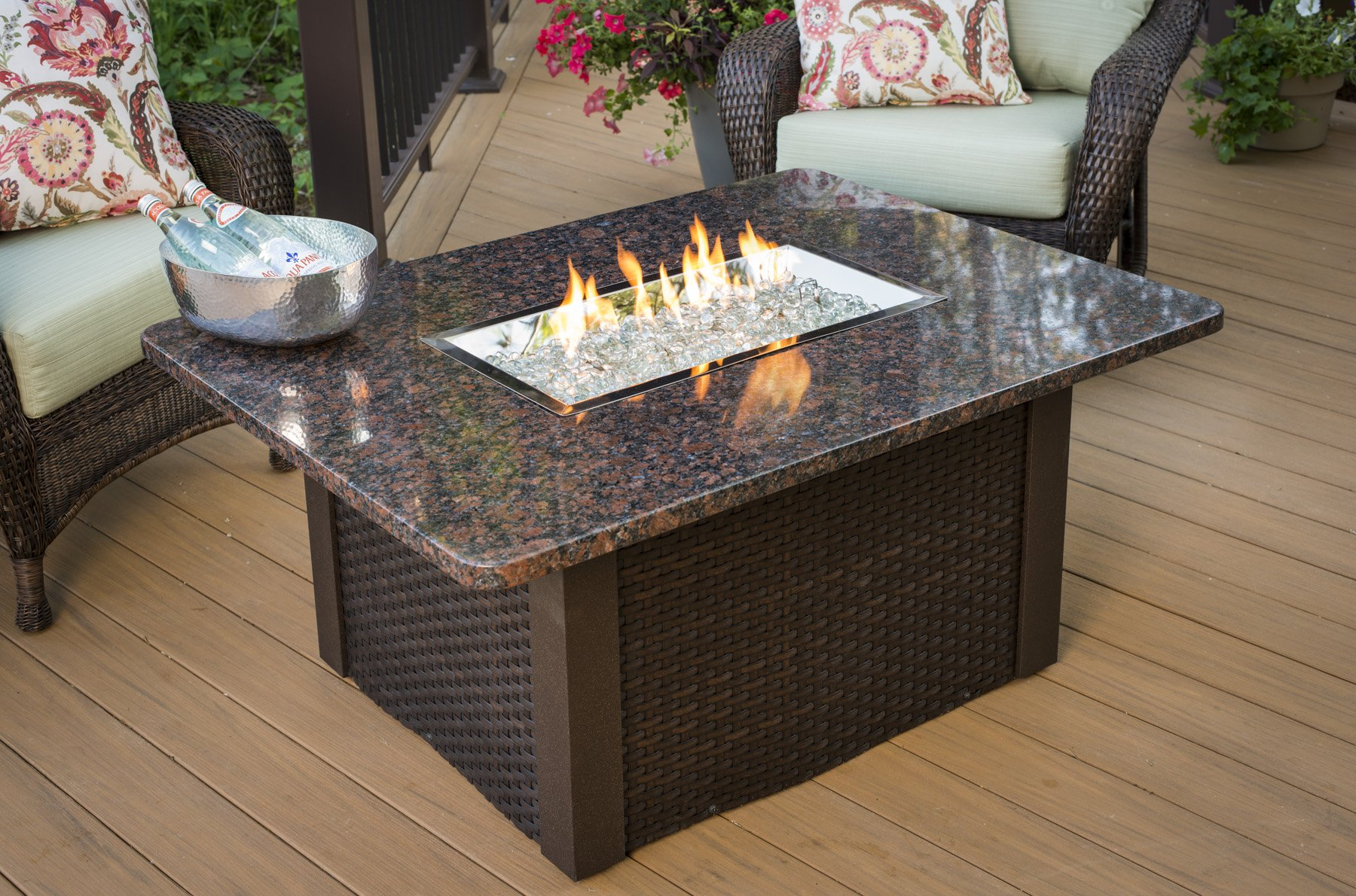 Grandstone, Granite, British Granite, table, dining table, promotion, sale, fire pit, firepit, fire table,  firetable, Outdoor Greatroom Company