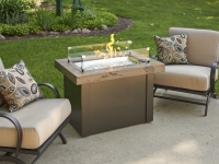 Gas Fire Pit - Marbleized Noche Providence