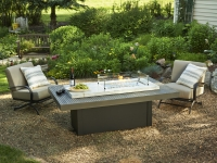 Gas Fire Pit Table - Boardwalk