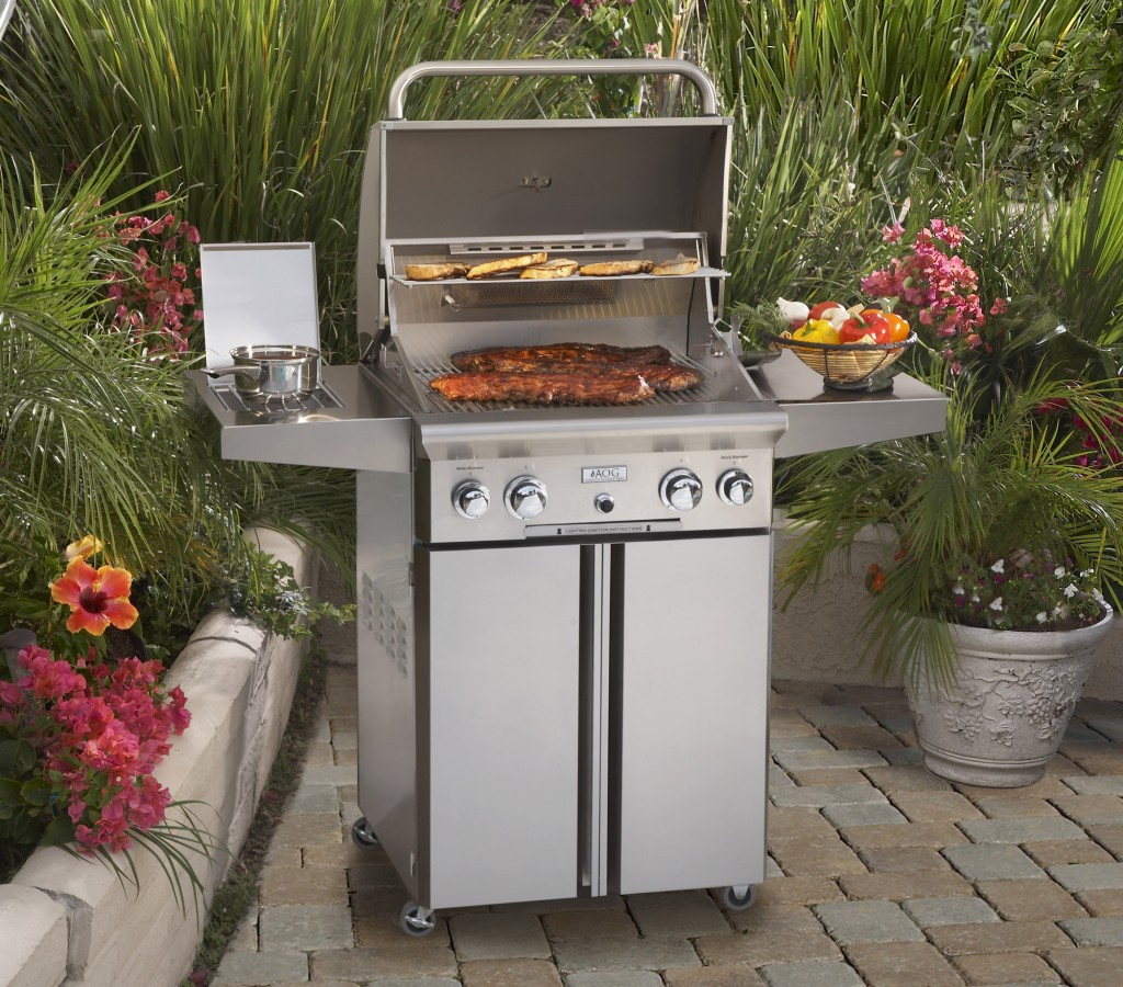 Gas Grill - AOG 24 Cart