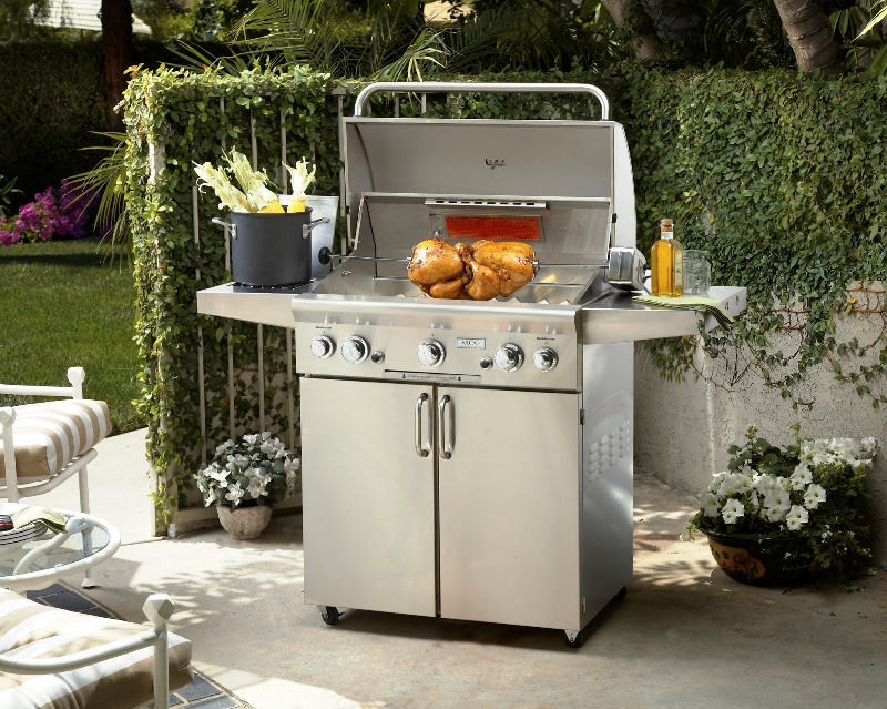 Gas Grill - AOG 36 Grill Cart