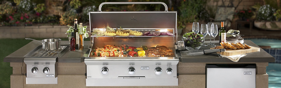 Gas Grill Built-In - AOG Grill