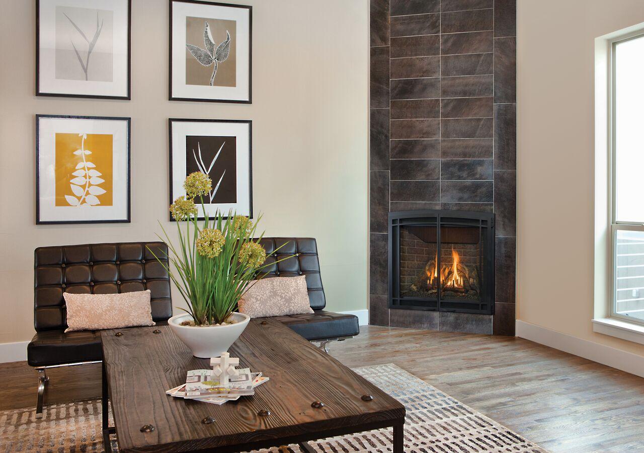 Traditional Gas Fireplace - Kozy Bayport 36