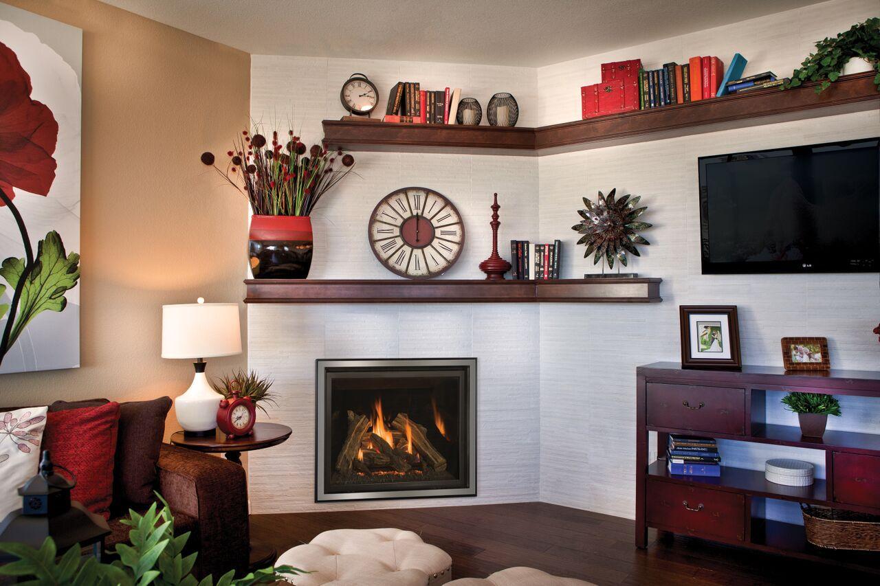 Traditional Gas Fireplace - Kozy Carlton 39