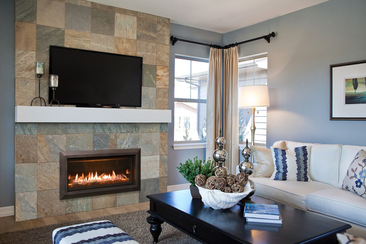 Traditional Gas Fireplace - Kozy Slayton 36