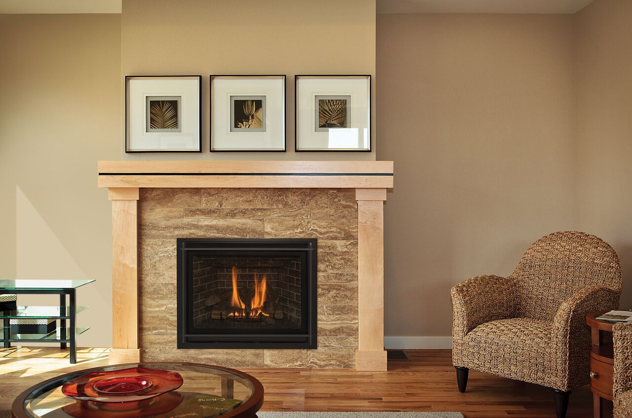 Traditional Gas Fireplace - Kozy TRF Prairie