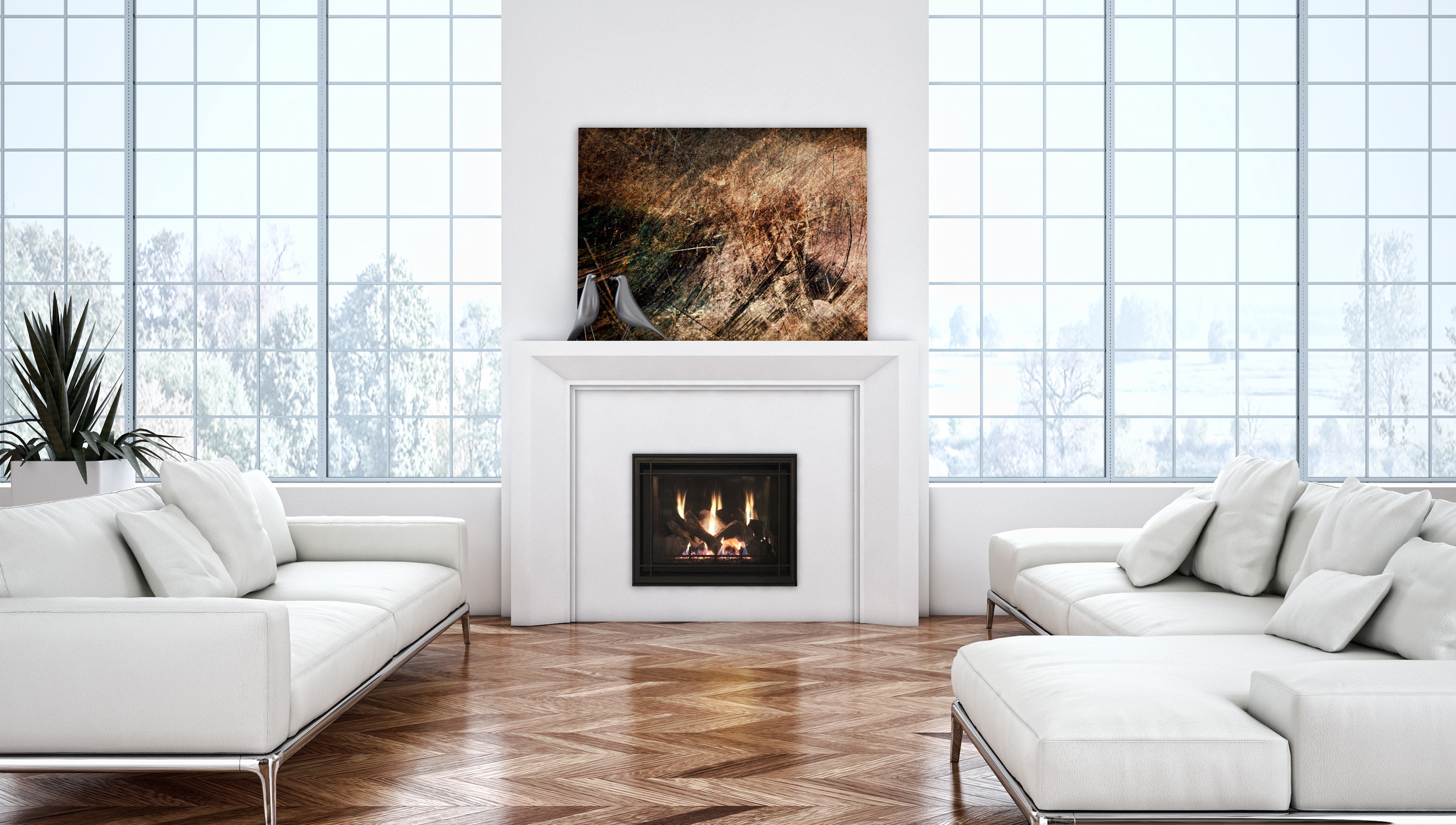 Traditional Gas Fireplace - Stellar VP36T
