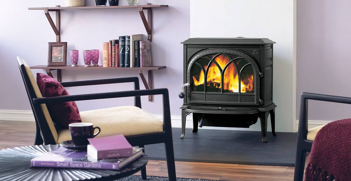 Traditional Wood Stove - Jotul