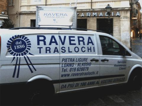 Ravera Traslochi opera ad Alassio