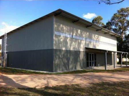 corner of workhouse building