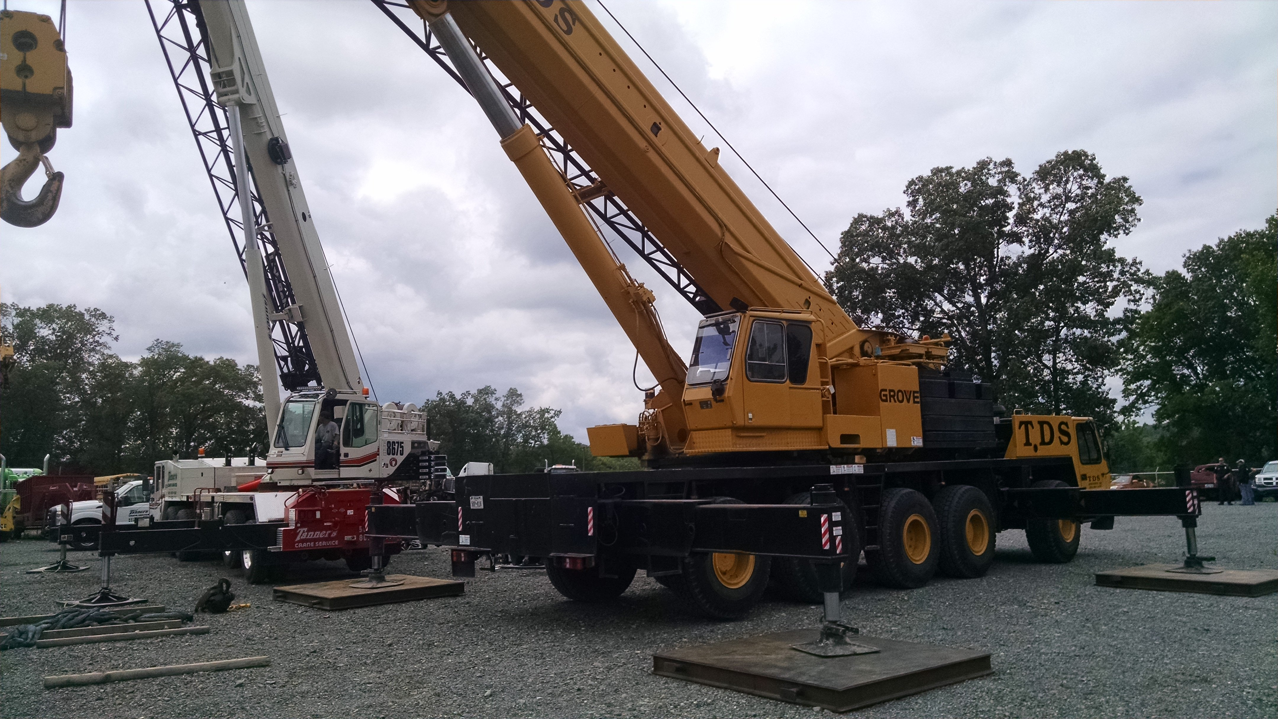 Crane services in Hot Springs, Arkadelphia and Malvern, AR