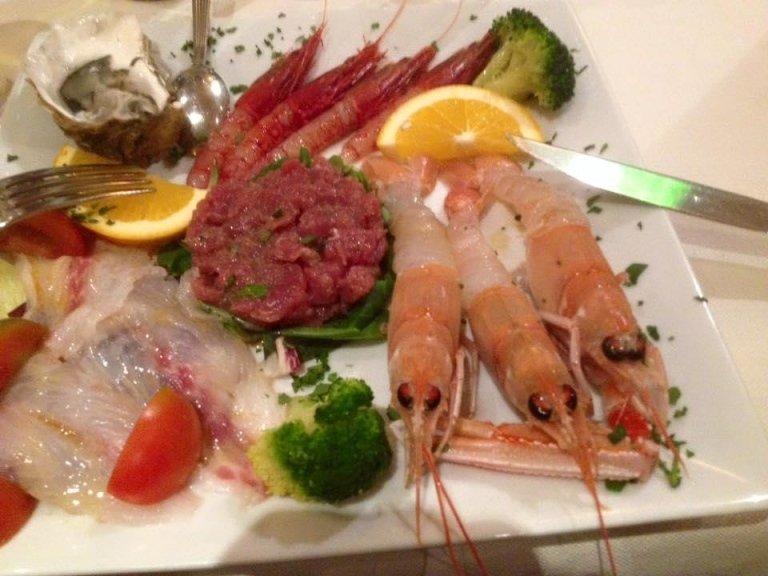 cruditè di pesce