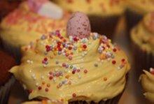 Celebration cakes - Upper Holloway, London - The Highgate Pantry - cream cake chips