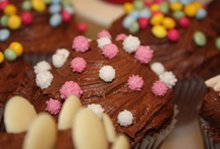 Speciality cakes - Muswell Hill, North London - The Highgate Pantry - chocolate cake chips