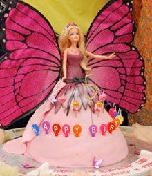 Birthday cakes - Highgate, London - The Highgate Pantry - barbie cake