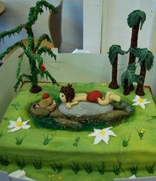 Celebration cakes - Upper Holloway, London - The Highgate Pantry - jungle book cake