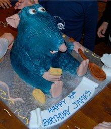 Birthday cakes - Highgate, London - The Highgate Pantry - ratatouille cake