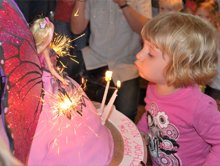 Birthday cakes - Highgate, London - The Highgate Pantry - baby and cake