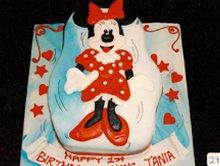 Birthday cakes - Highgate, London - The Highgate Pantry - minnie mouse cake