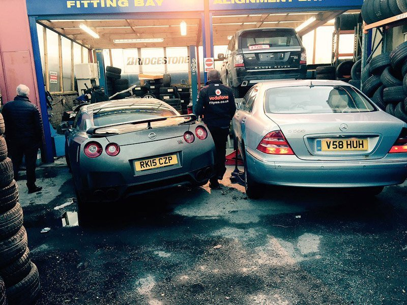 Tyre Fitting at Family Car Centre