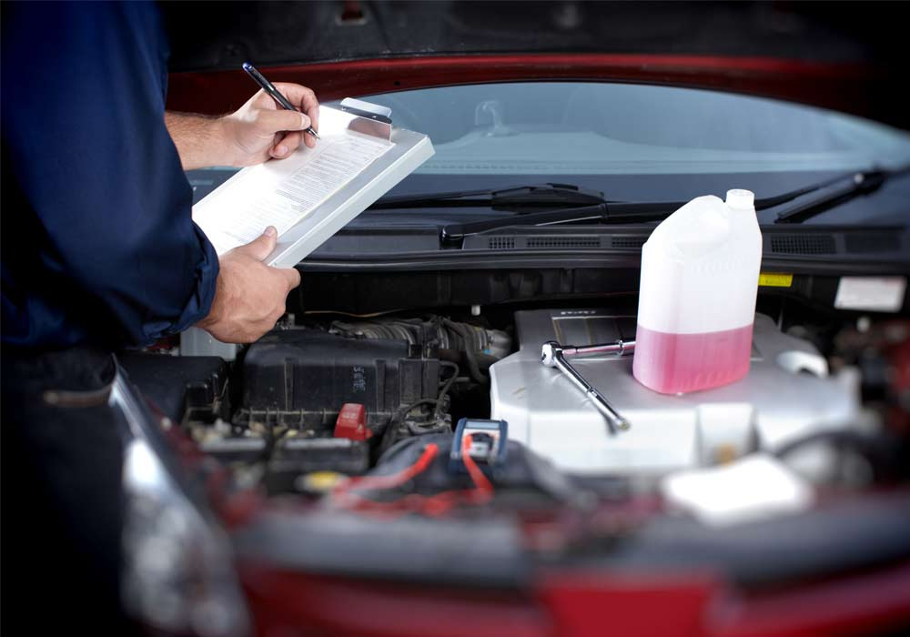 van engine oil change