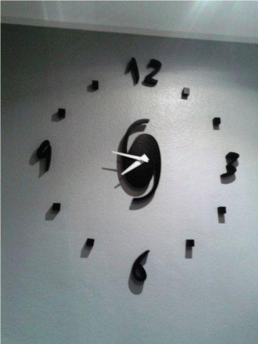 articoli da regalo, orologio da muro, oggettisitca, taglio, laser