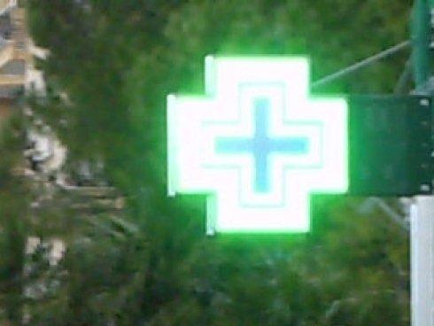 croce farmacia, led, i segen farmacia, livonro , vito inghilleri