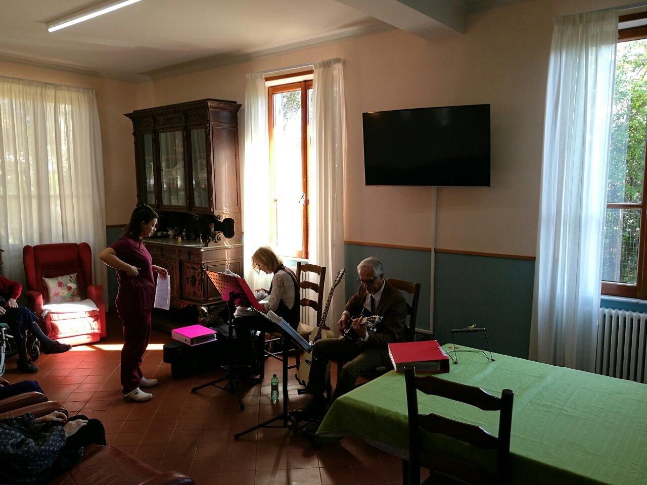 attività musicali presso la struttura