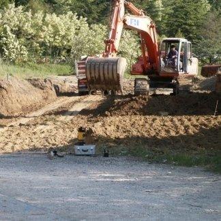 Lavori stradali e movimento terra