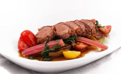 Delicious looking beef dish