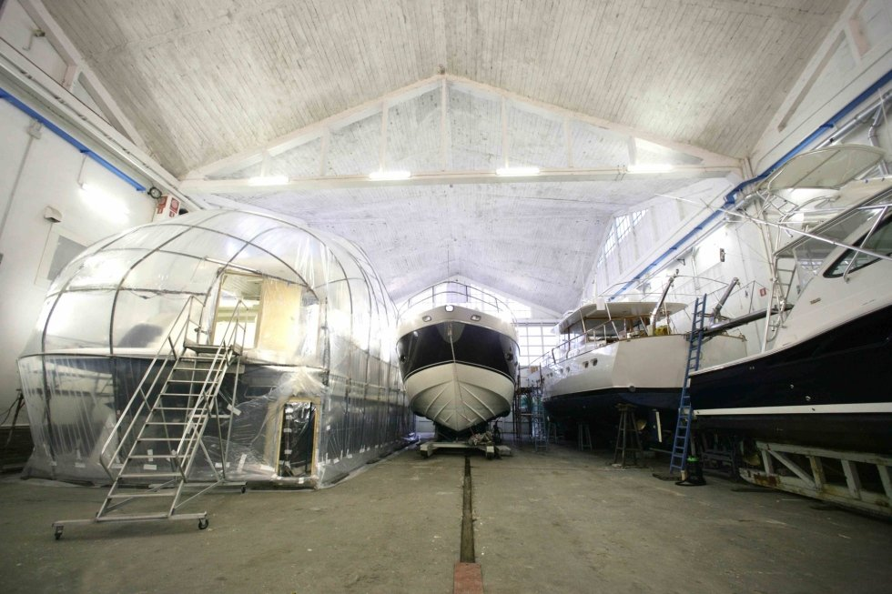 structural interventions on yachts