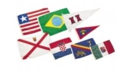 assortimento di bandiere