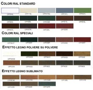 Colori oscuranti alluminio