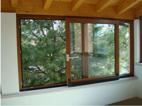 finestre pvc finitura legno