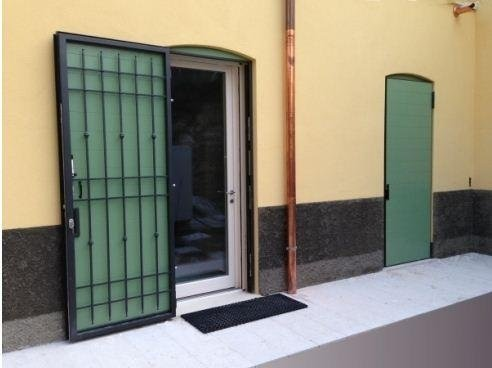 Cancello di sicurezza e oscurante