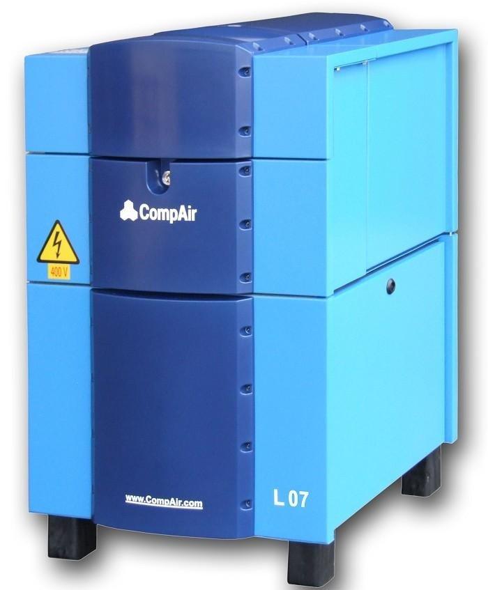Compressore rotativo silenziato da 7 Kw con controllo elettronico Delcos PRO