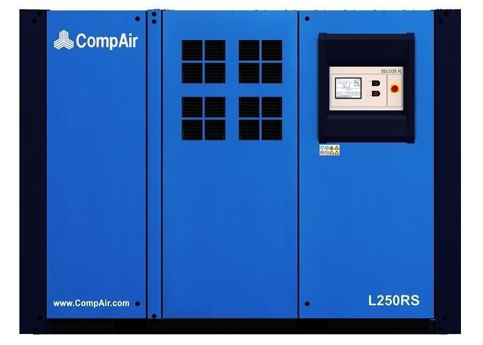 Compressore rotativo silenziato tecnologia inverter o ON/OFF gamma da 160 a 300 kw con controllo elettronico delcos XL.
