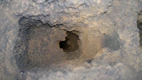 Canna fumaria in conglomerato cementizio