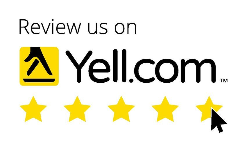 review us on Yell.com logo