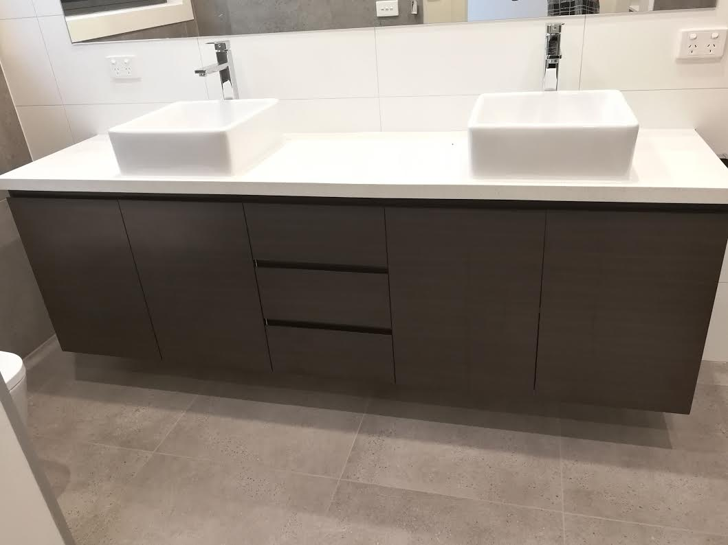 Vanities melbourne bayside bathroom kitchen centre for Premade kitchen drawers
